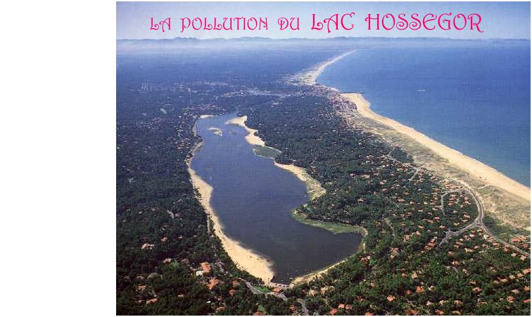 La pollution du Lac d'Hossegor